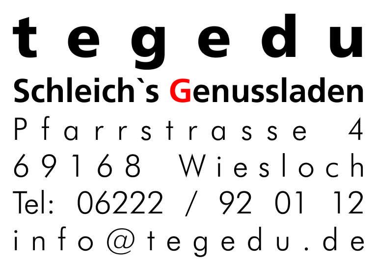 tegedu - Schleichs Genußladen
