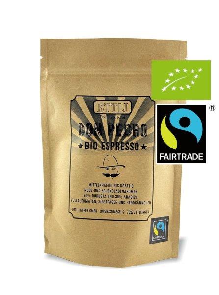 Don Pedro BIO Fairtrade Espresso 500g