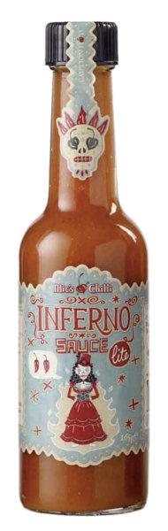 Inferno Sauce lite 165g sauce 14000 Scoville