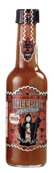 Inferno Sauce Extreme 165g 50000 Scoville 12Habanero/Fl.