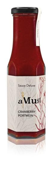 aMust Cranberry Portwein Sauce 250ml