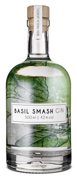 Basil Smash Gin 500ml (42% vol)